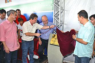 Lançamento da obra do complexo Via Mangue